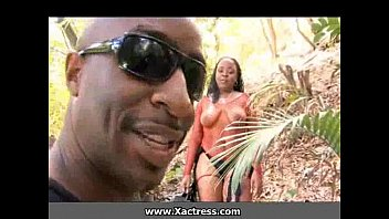 Moanas loverboy getting African porn massage from a jungle girl