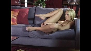 Fucks a young blonde in her mouth and tight ass