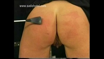 Leather Facesitting Mistress With Face Mask Gives Her Tied Up Slave A Ballbusting Handjob